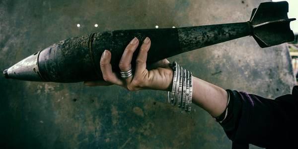 Da bombe a gioielli: trasformare la tragedia in bellezza
